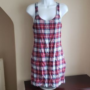 Nwt Abercrombie and Fitch plaid dress body con